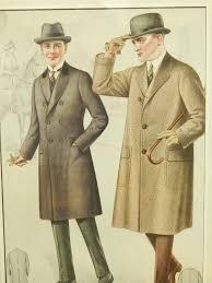 1920 u0027s men u0027s fashion illustration tailor sample print from clean