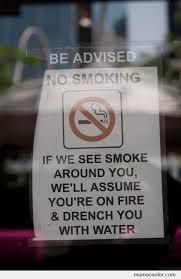 Anti Smoking Meme - awesome anti smoking notice by ben meme center