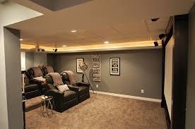 basement theater ideas best 8 abbott court basement finished