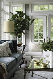 green gray living green white and gray living room filled with plants and