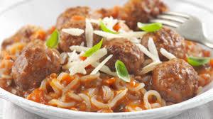 vdi cuisine spaghetti meatballs noodles 600 calorie noodle recipe