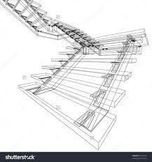 stairs interior stock vectors vector clip art shutterstock