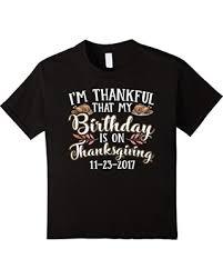 big deal on thanksgiving 2017 birthday turkey t shirt 8