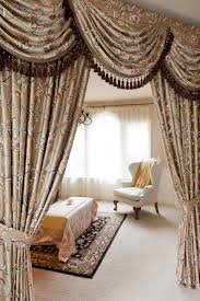 fleurs rococo swag valances curtain draperies
