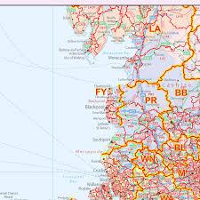 Yorkshire England Map by England U0026 Wales Postcode District Locked Pdf Xyz Maps