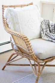 Rattan Accent Chair Endearing Wicker Accent Chair With Best 25 Rattan Chairs Ideas On