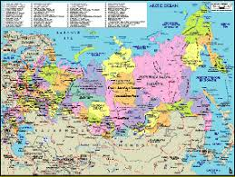 russia in maps map of russia selection of the best russia maps