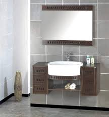 Gray And Brown Bathroom by Top Bathroom Wall Tile Details For More Attractive Private Space