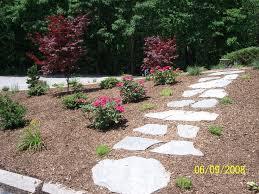 Backyard Walkway Ideas by 10 Best Stone Walkway Images On Pinterest Landscaping Ideas
