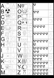 printable letters and numbers for preschoolers u2013 printable