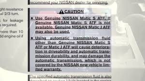 2012 nissan frontier fluid check points youtube