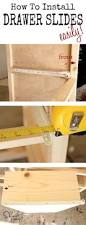 How To Fix Cabinet Drawer Slides Pottery Barn Inspired Armoire Drawers Drawers Woodworking And