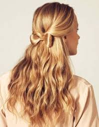 bow hair hairstyles with bows