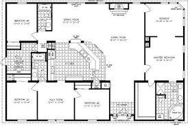 3 bedroom mobile home floor plans 4 bedroom modular homes floor plans mobile home with regard to and