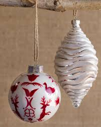 nordic frost ornament set balsam hill