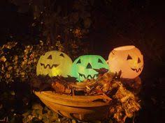 Halloween Decorations Using Milk Jugs - how to make halloween luminary out of a milk jug yahoo voices