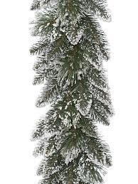 buy 2 7m 9ft frosted finley garland from seasons