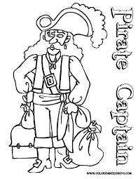 coloring pages of pirates coloring home