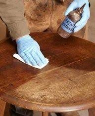 Fix Scratches In Wood Furniture by Miracle In Mixture Of Vinegar And Olive Oil In Fixing Scratches In