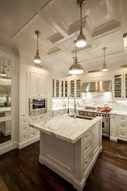 Kitchen Cabinets And Countertops Ideas by Like The Thick Island Slab And The Marble Backsplash Kitchen