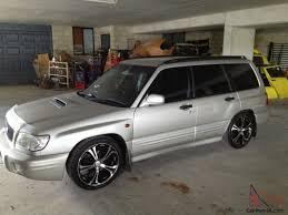 Forester Gt 2000 4d Wagon 5 Sp Manual 2l Turbo Mpfi In Springwood Qld
