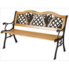 Old Metal Outdoor Furniture by Vintage Metal Garden Bench Zandalus Net