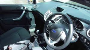 used ford fiesta hatchback petrol in ink blue from evans halshaw