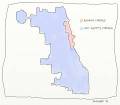 chicago gerrymandering map february 2015 political map of chicago fred klonsky