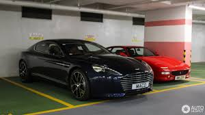 aston martin officially launched in aston martin rapide s 10 february 2017 autogespot