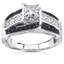 black and white engagement rings for carbonado ring mysterious and beautiful diamonds rings of
