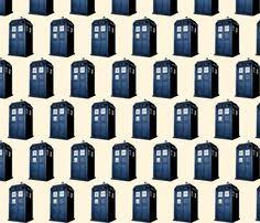 dr who wrapping paper weeping tardis fabric by suzisu29 on spoonflower custom
