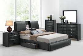 Cal King Beds Acme Kofi California King Bed W Storage Black Pu 21262ck