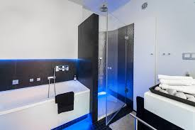 Black And Blue Bathroom Ideas Mesmerizing 10 Bathrooms White And Blue Inspiration Of Top 25