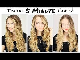 different ways to curl your hair with a wand this will actually teach you how to curl your hair in 5 minutes