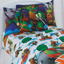 Twin Sheet Set Nickelodeon Teenage Mutant Ninja Turtles Boy U0027s Twin Sheet Set