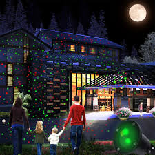 Outdoor Light Projector Stars by Outdoor Waterproof Elf Christmas Lights Green Red Laser Projector