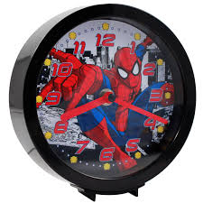 marvel officially licensed dual function analog clock