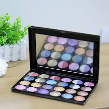 24 colors makeup shade palette pro shimmer baked eyeshadow blusher
