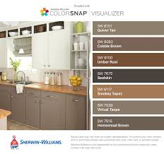 sherwin williams brown kitchen cabinets i found these colors with colorsnap visualizer for iphone