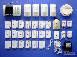 advanced wireless home security alarm system 6 number auto
