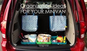 Organize Chaos Yummymummyclub Ca How To Organize Your Minivan So It S Functional And Stylish