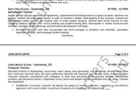 Mathematics Teacher Resume Sample by Math Teacher Resume Samples Visualcv Resume Samples Database Math