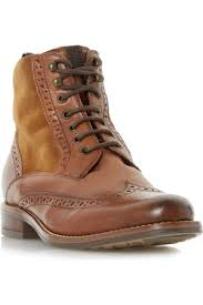 womens boots dune buy dune lace up boots for fashiola co uk compare