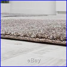 luxury thick rug high pile soft wave carpet in grey beige cream