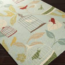 Outdoor Rugs Overstock Hooked Canaries Pear Indoor Outdoor Rug 9 X 12