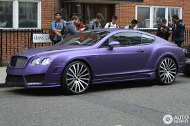purple bentley mulsanne bentley mansory continental gt speed 2 june 2014 autogespot