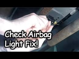 2006 chevy silverado service airbag light fixing check airbag light front airbag sensor replacement youtube