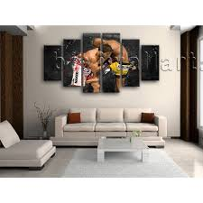 Dining Room Prints Large Silva Boxing Picture Painting Dining Room