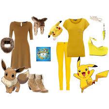 Pikachu Halloween Costume Kids Pikachu Eevee Eevee U0026 Pikachu Halloween Costumes