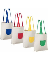 tote bags in bulk savings on canvas tote bag 4 pack reusable tote bags